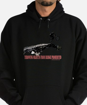 Throwing Objects Prohibited Hoodie (dark)
