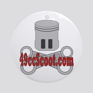 Piston & Crossrods Ornament (Round)