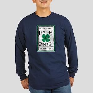 Irish Long Sleeve Dark T-Shirt