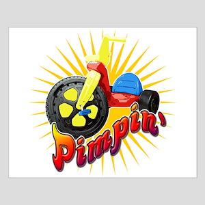 Pimpin' Big Wheel Small Poster