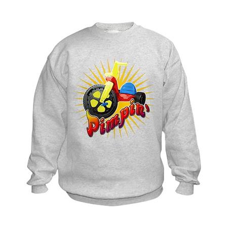 Pimpin' Big Wheel Kids Sweatshirt