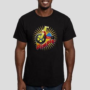 Pimpin' Big Wheel Men's Fitted T-Shirt (dark)