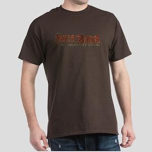 2010 Mt Baker Fest Logo White T-Shirt