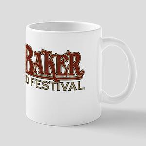 2010 Mt Baker Fest Logo White Mugs