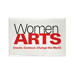 WomenArts White Magnet