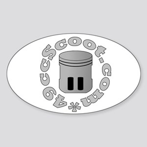 Piston & Logo Ring Sticker (Oval)