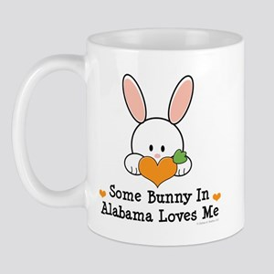 Some Bunny In Alabama Loves Me Mug