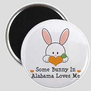 Some Bunny In Alabama Loves Me Magnet
