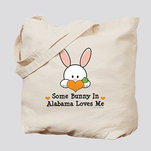 Some Bunny In Alabama Loves Me Tote Bag
