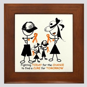 Leukemia Awareness Framed Tile