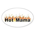 Hot Mama Sticker (Oval 50 pk)