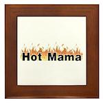 Hot Mama Framed Tile
