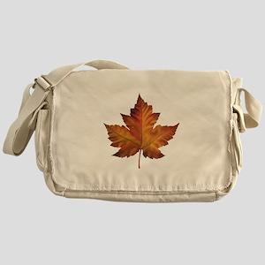 Canada Souvenir Maple Leaf Gifts Art Messenger Bag