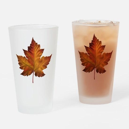 Canada Souvenir Maple Leaf Gifts Ar Drinking Glass