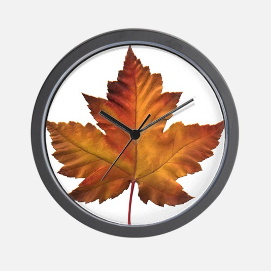 Canada Souvenir Maple Leaf Gifts Art Wall Clock