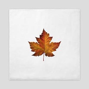 Canada Souvenir Maple Leaf Gifts Art Queen Duvet