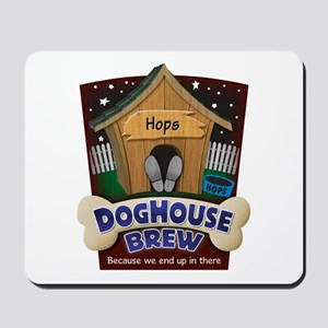 Doghouse Brew Mousepad