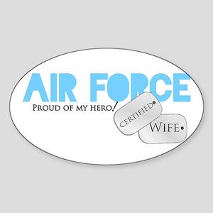 Certified Wife Sticker (Oval)