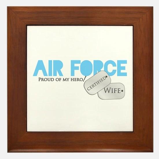 Certified Wife Framed Tile