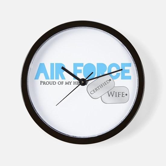Certified Wife Wall Clock