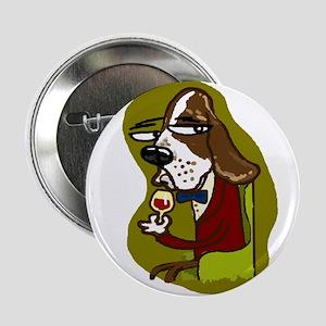 """Wine Hound 2.25"""" Button"""