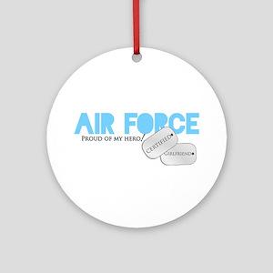 Certified Girlfriend Ornament (Round)