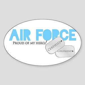 Certified Girlfriend Sticker (Oval)