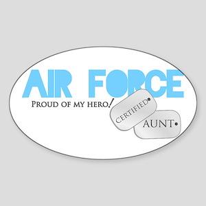 Certified Aunt Sticker (Oval)