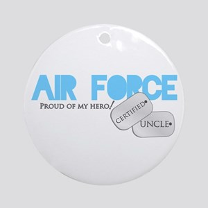Certified Uncle Ornament (Round)