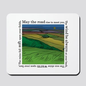 May the Road Rise Up... Mousepad