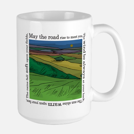 May the Road Rise Up... Large Mug