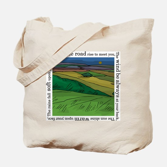 May the Road Rise Up... Tote Bag