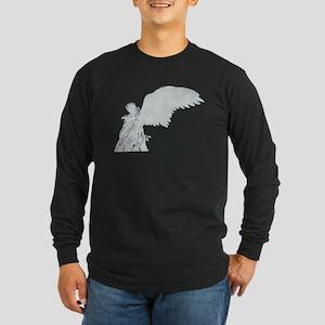 St. Michael Long Sleeve Dark T-Shirt