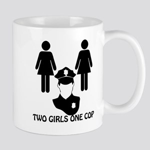 Two girls one cop Mug