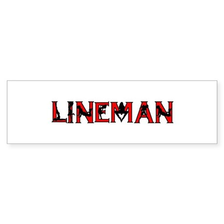 Lineman Sticker (Bumper)