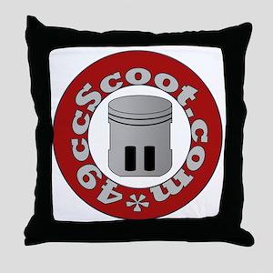 Circular Logo Throw Pillow