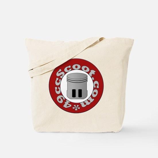 Circular Logo Tote Bag
