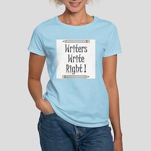 Writers Write Women's Light T-Shirt