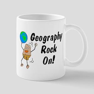 Geography Rock On Mug