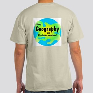 Geography (Back) Light T-Shirt