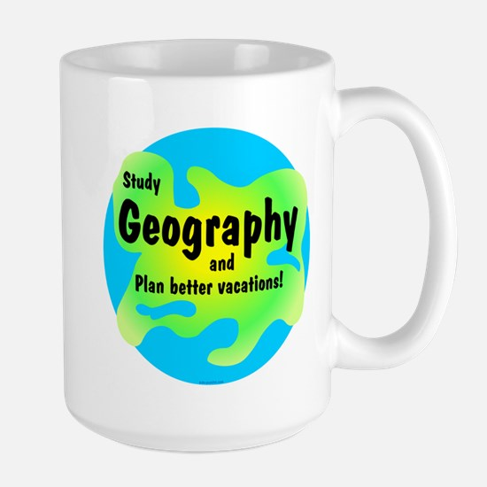 Geography Large Mug
