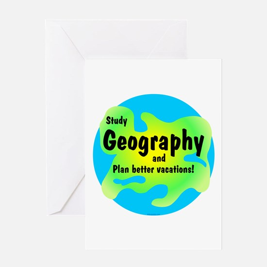 Geography Greeting Card
