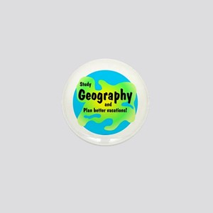 Geography Mini Button
