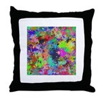 Computer Art Throw Pillow