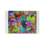 Computer Art Rectangle Magnet (100 pack)