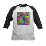 Computer Art Kids Baseball Jersey