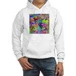 Computer Art Hooded Sweatshirt