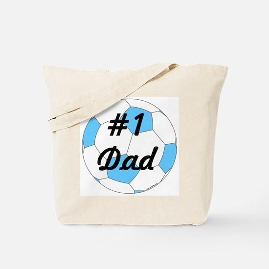 Number 1 Dad Tote Bag