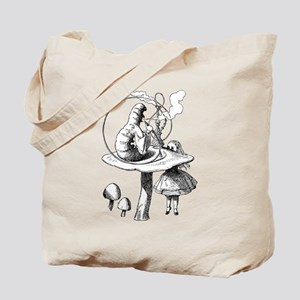 Alice & the Caterpillar Tote Bag