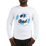 Number 1 Dad Long Sleeve T-Shirt